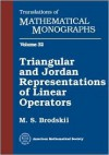 Triangular and Jordan Representations of Linear Operators (Translations of Mathematical Monographs) - M.S. Brodskii