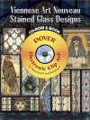 Viennese Art Nouveau Stained Glass Designs CD-ROM and Book - Dover Publications Inc.