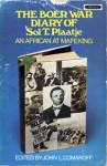 Boer War Diary: An African at Mafeking - Sol T. Plaatje, John L. Comaroff