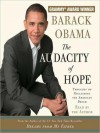 The Audacity of Hope: Thoughts on Reclaiming the American Dream (Audio) - Barack Obama