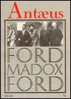Antaeus 56: Essays of Ford Madox Ford Spring 1986 - Daniel Halpern