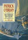 The Thirteen Gun Salute - Patrick O'Brian, Simon Vance