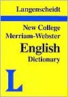 New College Dictionary - Langenscheidt