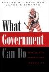 What Government Can Do: Dealing with Poverty and Inequality - Benjamin I. Page, James Roy Simmons, James R. Simmons