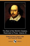 The Best of the World's Classics, Restricted to Prose, Volume III (Dodo Press) - Henry Cabot Lodge
