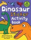 Dinosaur Sticker Activity Book - Roger Priddy