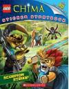 LEGO Legends of Chima: Scorpion Strike! (Sticker Storybook) - Scholastic Inc., Ameet Studio