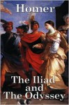 The Iliad & The Odyssey - Homer, Andrew Lang, Walter Leaf, Ernest Myers