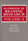 Handbook of Reading Research, Volume II - Rebecca Barr, Michael L. Kamil, Peter B. Mosenthal