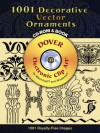 922 Decorative Vector Ornaments CD-ROM and Book - Carol Belanger Grafton, Carol Belanger-Grafton