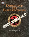 Directive on Superpowers (DC Universe RPG) - Peter Flanagan, David Martin, Nikola Vrtis