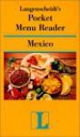 Pocket Menu Reader Mexico - Langenscheidt