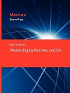 Exam Prep for Marketing by Burrow, 2nd Ed. - James L. Burrow
