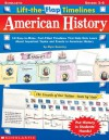 Lift-the-flap Timelines: American History - Alyse Sweeney