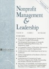Nonprofit Management & Leadership, Volume 18, Number 2 - Roger A. Lohmann, Kathleen Mills, Avner Ben-Ner