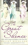 The Great Silence 1918-1920, Living in the Shadow of the Great War - Juliet Nicolson