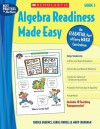 Algebra Readiness Made Easy: Grade 5: An Essential Part of Every Math Curriculum - Mary Cavanagh, Carole E. Greenes, Carol Findell
