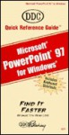 Quick Reference Guide for PowerPoint 97 - DDC Publishing