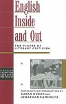 English Inside and Out: The Places of Literary Criticism - Susan Gubar, Jonathan Kamholtz