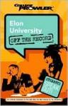 Elon University - Amy Mahon, Tim Williams, Skindzier Jon, Allisa Brown