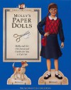 Molly's Paper Dolls: Molly And Her Old Fashioned Outfits For You To Cut Out (American Girls Pastimes) - American Girl