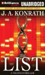 The List: A Technothriller - J.A. Konrath