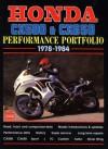 Honda CX500 & CX650 1978-1984 Performance Portfolio - R.M. Clarke
