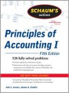 Schaum's Outline of Principles of Accounting I, Fifth Edition (Schaum's Outline Series) - Joel Lerner, James Cashin