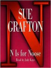 N Is For Noose (Audio) - Mary Peiffer, Sue Grafton