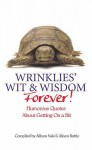 Wrinklies Wit And Wisdom Forever - Allison Vale, Alison Rattle, Alison Vale