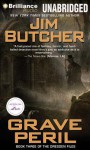 Grave Peril - Jim Butcher, James Marsters