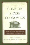 Common Sense Economics: What Everyone Should Know About Wealth and Prosperity - James D. Gwartney, Richard L. Stroup