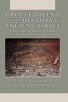 Prolegomena to the History of Ancient Israel - Julius Wellhausen
