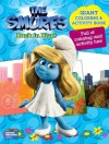 Smurfs Movie Giant Color Book - Back in Blue! - Modern Publishing