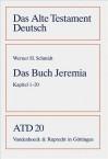 Das Buch Jeremia: Kapitel 1-20 - Werner J. Schmidt