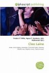 Cleo Laine - Agnes F. Vandome, John McBrewster, Sam B Miller II