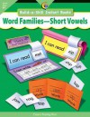 Word Families Short Vowels, Build A Skill Instant Books - Kim Cernek, Rozanne Lanczak Williams, Jenny Campbell, Darcy Tom