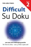 The Times: Difficult Su Doku Book 2 - Sudoku Syndication