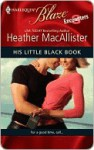 His Little Black Book - Heather MacAllister