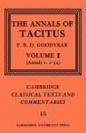 Annals I.1-54 (Classical Texts & Commentaries) - Tacitus, F.R.D. Goodyear