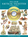Full-Color Nautical Vignettes CD-ROM and Book - Dover Publications Inc., Staff of Dover
