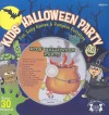 Kids' Halloween Party: Fun, Easy Games & Pumpkin Patterns [With Sticker(s) and CD (Audio) and 10 Pumpkin Carving Patterns] - Ken Carder