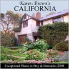 Karen Brown's California: Exceptional Places to Stay & Itineraries - June Eveleigh Brown, Karen Brown, Clare Brown