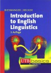 Introduction to English linguistics - Markus Bieswanger
