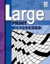 Large Print Crossword Book - School Specialty Publishing, Vincent Douglas