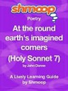 At the round earth's imagined corners (Holy Sonnet 7) - Shmoop