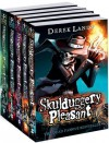 Skulduggery Pleasant Pack: Skulduggery Pleasant, Playing with Fire, the Faceless Ones, Dark Days, Mortal Coil - Derek Landy