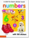 Start to Learn Numbers Sticker Book - Chez Picthall