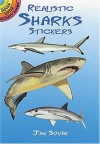 Realistic Sharks Stickers (Dover Little Activity Books Stickers) - Jan Sovak