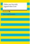 Jugend ohne Gott. Reclam XL - Text und Kontext (19039) - Ödön von Horváth